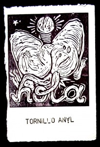 tornillo anal